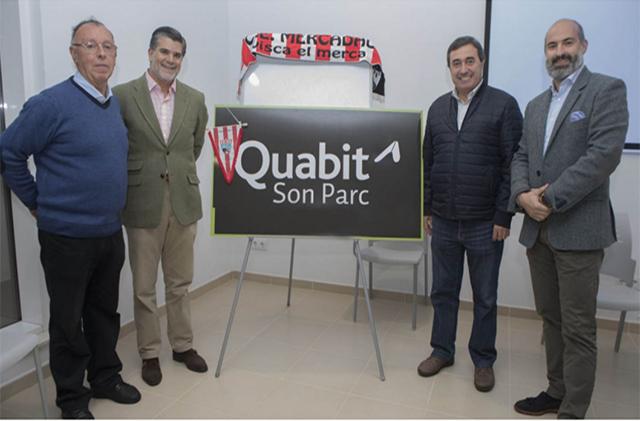 Quabit Inmobiliaria, nuevo patrocinador del CE Mercadal