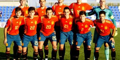 Xavi Sintes-debut España sub-18