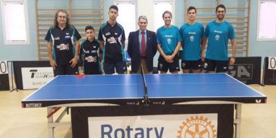 Tenis de mesa-Rotary Menorca – C.T.T. Sant Lluís-Portmany