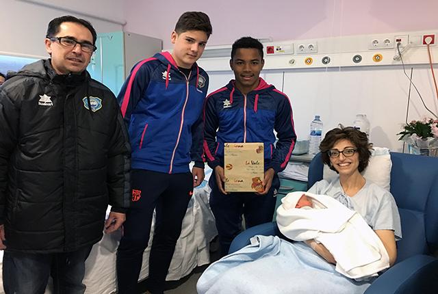 Visita Sporting a s'Hospital