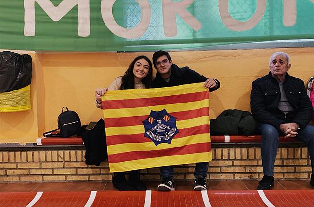 Afición Menorca en Sevilla