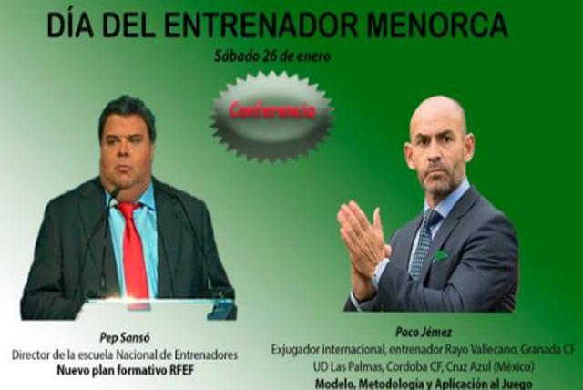 Cartel Dia del entrenador-Paco Jémez
