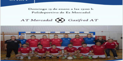 Cartel Futbol Sala masc