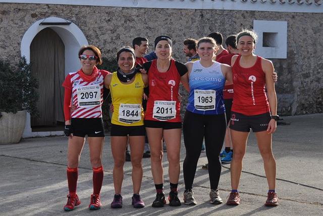 Corredores femeninas-Cross challenge menorca-Final SUBAIDA