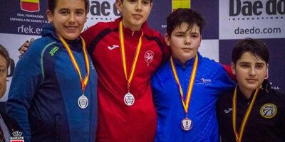Lucas Tobajas -Lliga Nacional de karate