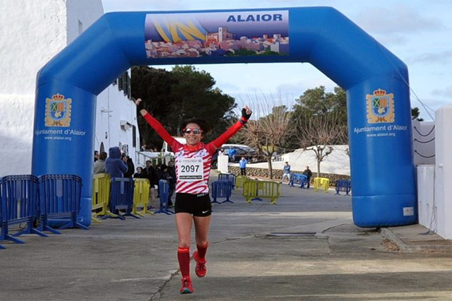 María Pallicer-Cross challenge menorca-Final SUBAIDA