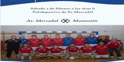 Cartel Futbol Sala Mercadal