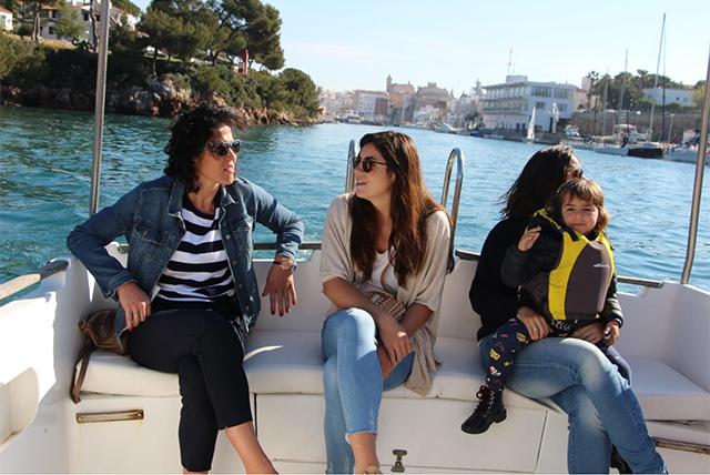 Avarca de Menorca vela