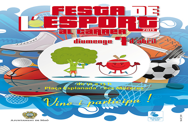 Cartell Festa de l'Esport