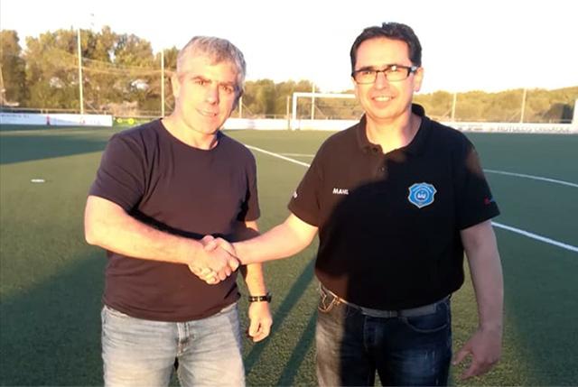 Alfonso Pérez- Entrenador Sporting jv
