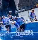 52 Super Series-Azzurra se luce en el estreno de Menorca