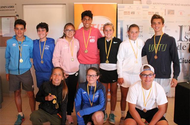 Entrega premios Balear infantil de tenis