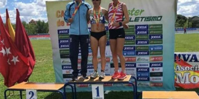 María Pallicer - Nacional de 10.000 en pista en master 40