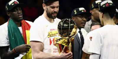 Marc Gasol- campeon NBA
