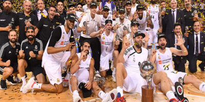 Real Madrid-Llull campeón ACB