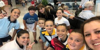 patinadoras del centro escolar La Salle