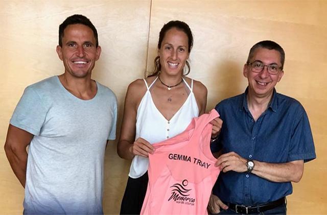 Gemma Triay embajador Menorca Illa de l'Esport
