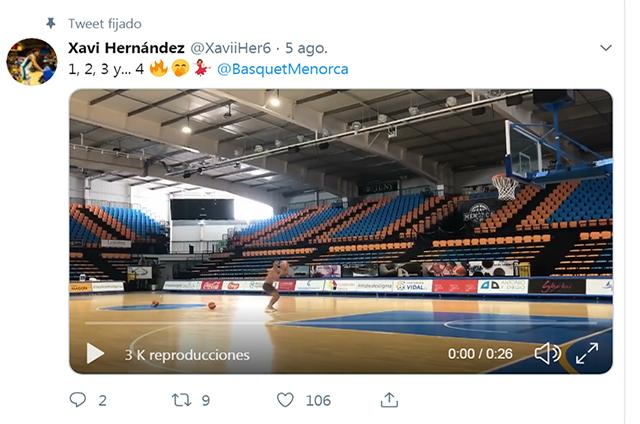 Entreno Xavi Hernández