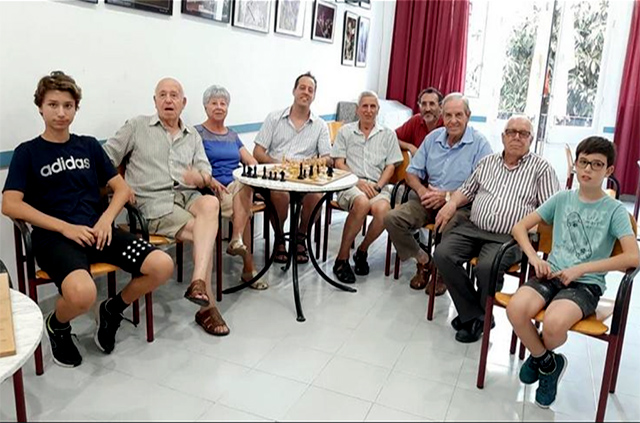Paco Vallejo - club de jubilats de la Casa des Poble de Maó