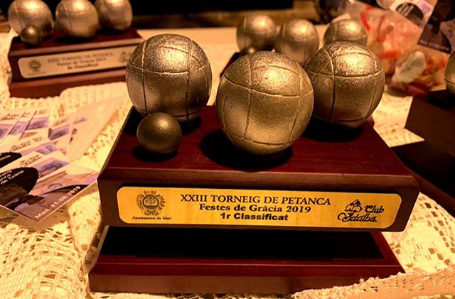 Trofeu Ajuntament de Maó als guanyadors