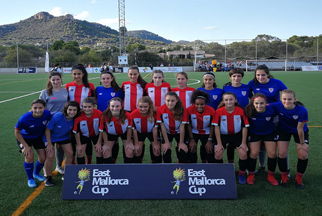 East Mallorca Girls Cup-Athletic de Bilbao jugará la final Sub-16