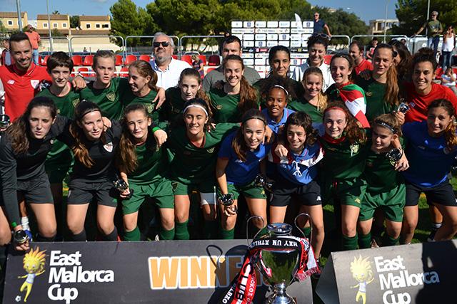 East Mallorca Girls Cup-Bilbao campeón SUB 16