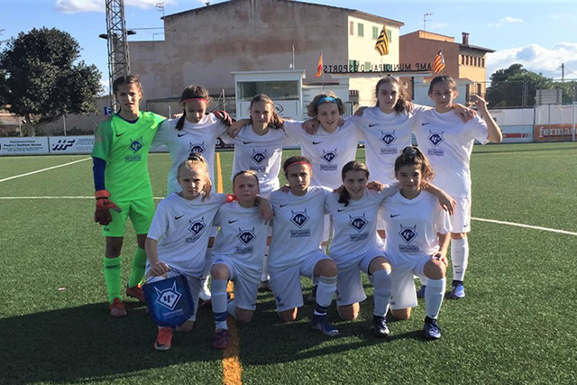 East Mallorca Girls Cup-Chertanovo jugará la final Sub-14