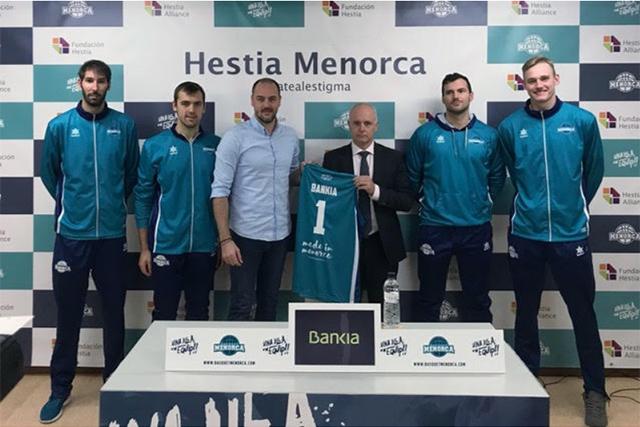 Bankia patrocinador oficial Hestia Menorca
