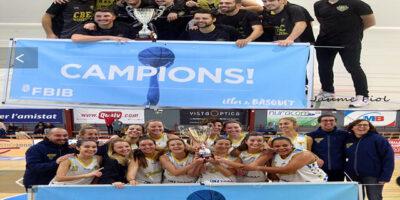 Campeones Copa Senior Es Castell-Jovent
