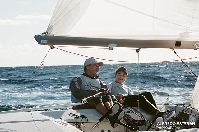 Damian Borras y Sara Frnaceschi ganan la WS1