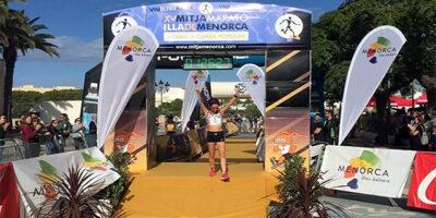 Maria Pallicer-ganadora Mitja Marató 2019