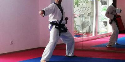 1er examen de cinturon negro de Soo Bahk Do
