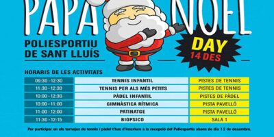 Cartel Papa Noel Day