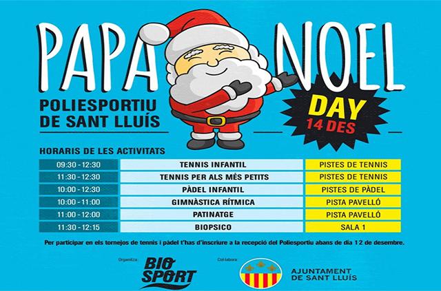 Cartel Papa Noel Day
