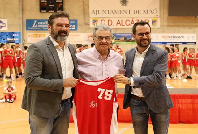 Concesion medalla de Oro de Maó al CD Alcázar