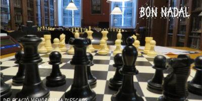 Felicitació Nadal Escacs