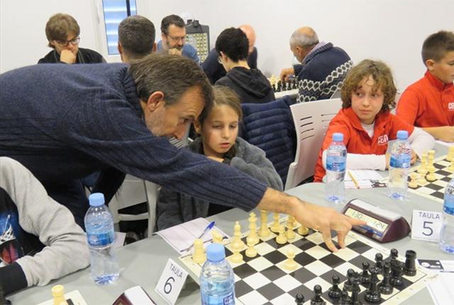 Ronda individual Escacs