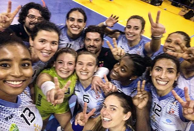 Selfie Avarca tras ganar en Alcobendas
