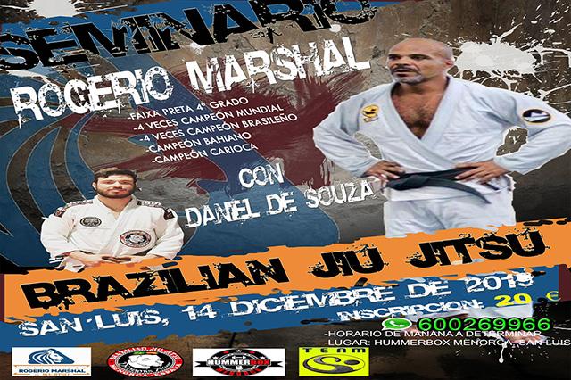 seminario brazilian jiujitsu- Maestro Rogerio Marshal