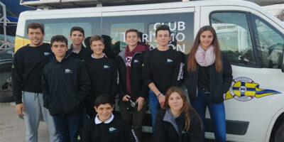 Equipo de regatas Láser 4.7 - Campeonato de Baleares
