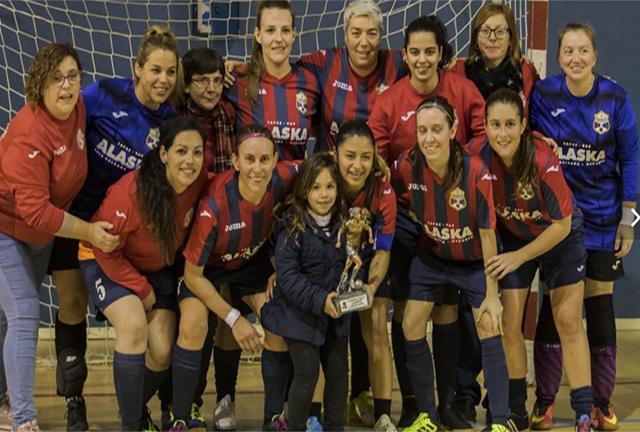 Ferrerias campeón Copa FS femenino