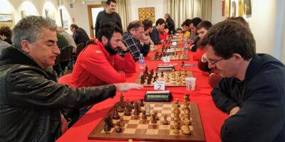 Joan Cubas gana la IX edición del torneig Nadal - Sant Antoni de ajedrez