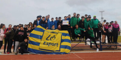 Lô Esport subcampeón Balear pista