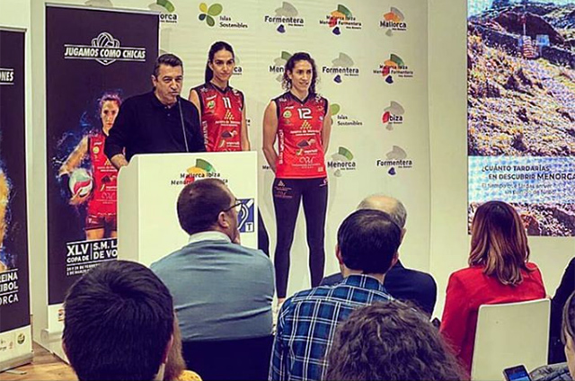 Volei Ciutadella-Presentacio FITUR Copa de la Reina