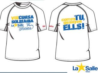 Camiseta solidaria Cursa La Salle