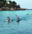 Cinc campionats de Menorca per Es Nàutic a s'insular de piragüisme a Santandria