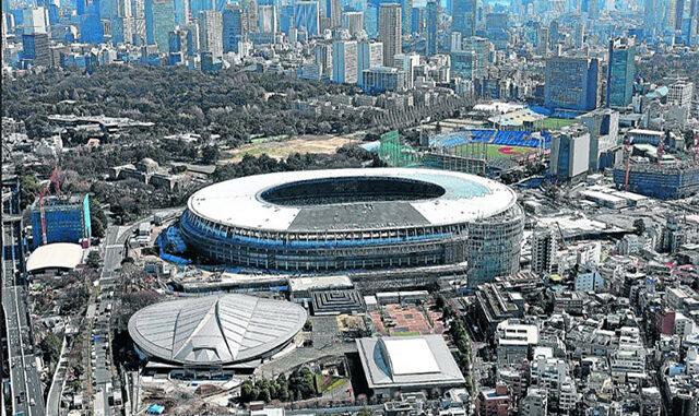 Estadio Olimpiadas Tokyo