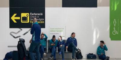 Hestia Menorca en el aeropuerto