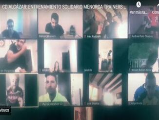 Entreno virtual CD Alcázar-Menorca Trainers