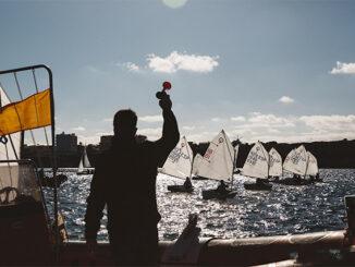 Salida de una regata